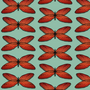 Watercolor Monarch