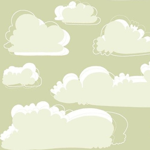 birds sage clouds