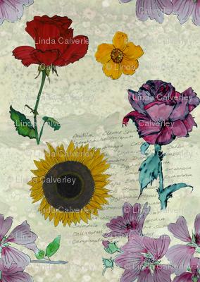 Botanical sketchbook -small