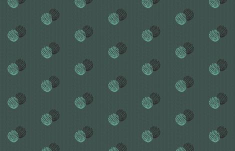 Onion Flowers by Friztin fabric by friztin on Spoonflower - custom fabric