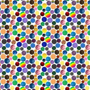 Children's Alphabet - Textured Dots Smaller