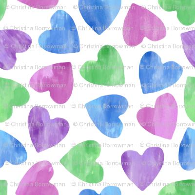 ASL I Love You Hearts