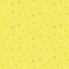 Sparkle Stars - Yellow