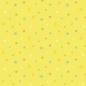 Sparkle Stars - Yellow