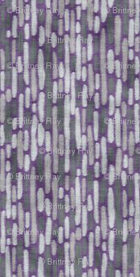 Purple Llama Dot Stripe