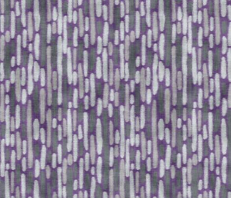 Purple Llama Dot Stripe fabric by pond_ripple on Spoonflower - custom fabric