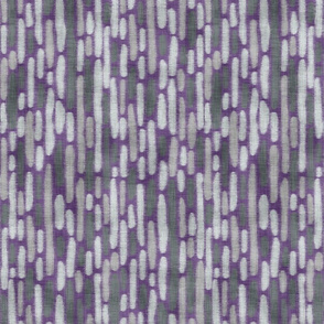 Purple Llama Dot Stripe