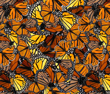 Little Butterflies fabric by wiccked on Spoonflower - custom fabric