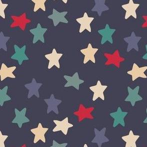 Blue grey stars