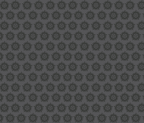 Supernatural Tonal Grey fabric by costumewrangler on Spoonflower - custom fabric