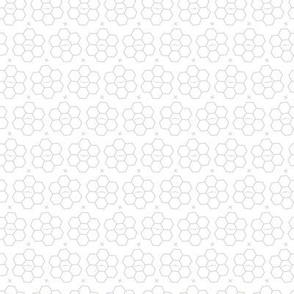 Hexagons // Gray