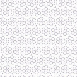 Hexagons // Purple