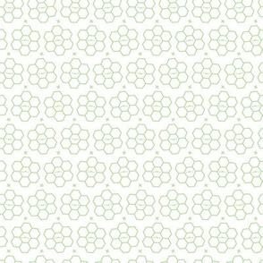 Hexagons // Green