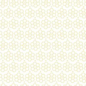 Hexagons // Yellow