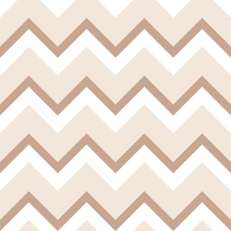 Chevron_Golden_ratio_tan fabric by khowardquilts on Spoonflower - custom fabric