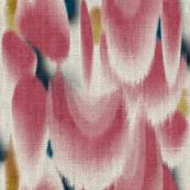 Shibori Wing Spots (cherry)