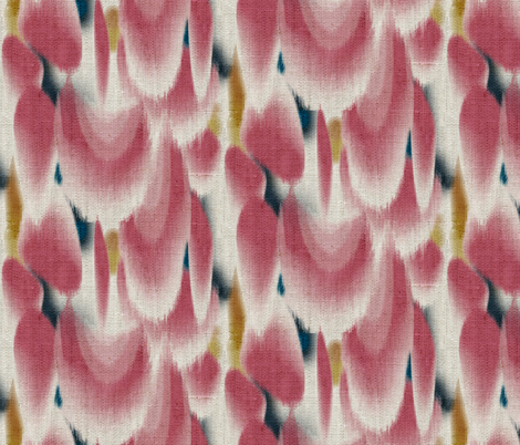 Shibori Wing Spots (cherry) fabric by nouveau_bohemian on Spoonflower - custom fabric