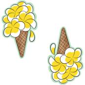 plumeria cones