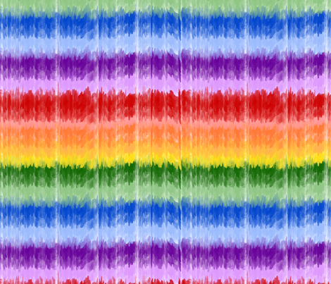 Ombre - Rainbow Smaller fabric by joyfulrose on Spoonflower - custom fabric