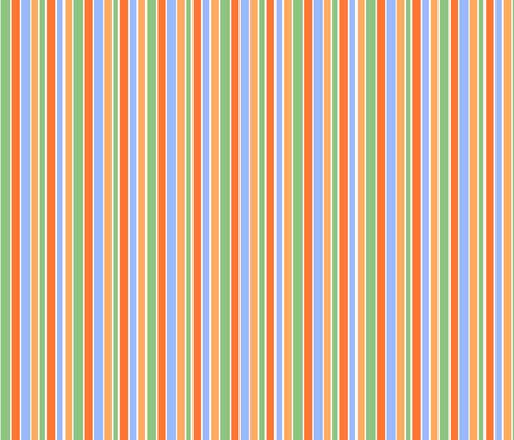 Goldfish Stripes fabric by joyfulrose on Spoonflower - custom fabric
