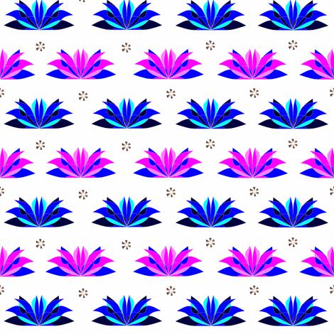 Flowers5-ch fabric by b2b on Spoonflower - custom fabric