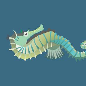 Seahorse - Kona Fat Quarter