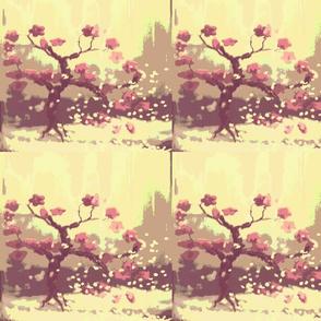bonsai in winter