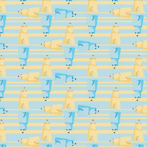 turning sand fabric by accidentalvix on Spoonflower - custom fabric