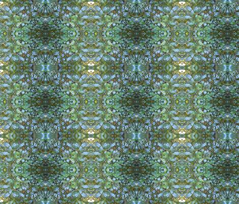 Glitzy Garden Plaid (Ref. 4029) fabric by rhondadesigns on Spoonflower - custom fabric