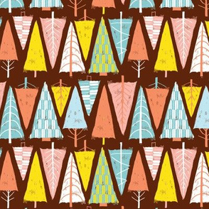 geometric triangle trees