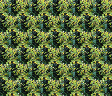 Shimmering Leaves in Shadows and Sunshine (Ref. 4060) fabric by rhondadesigns on Spoonflower - custom fabric
