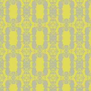 Chain Design in Yellow & Grey