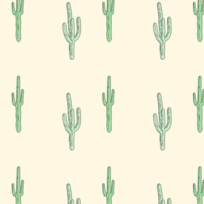Hand Drawn Cacti