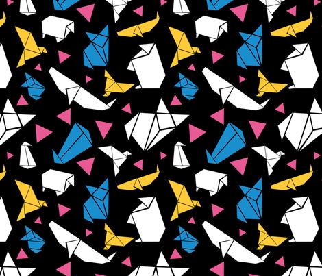 tokyo origami 2 fabric natalierobin spoonflower