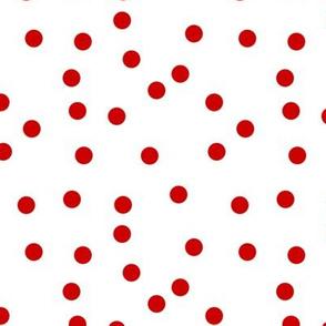 Le Cirque ~ Richelieu Red Polka Dots