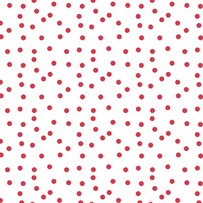 Le Cirque ~ Small Framboise Red Polka Dots