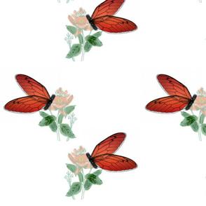 Resting Butterflies
