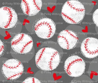 Baseball Lovers Unite! Large Scale