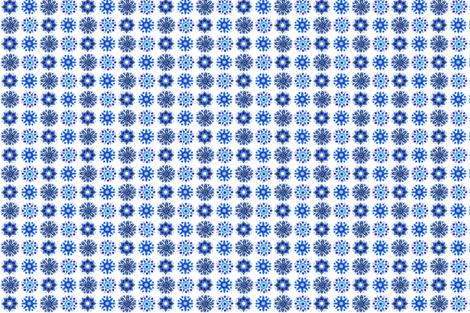 Moroccan Blue fabric by abearcub on Spoonflower - custom fabric
