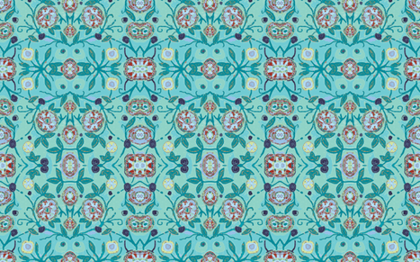 Artemis Aquamarine fabric by texstylish on Spoonflower - custom fabric