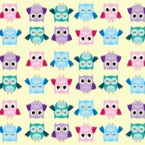 Happy Little Owls