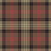 Ross Hunting Weathered tartan - full size