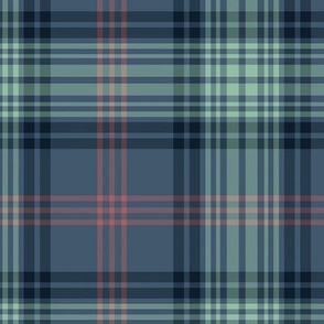 Ross Hunting tartan - blue variant