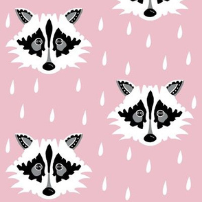 Raccoon pink