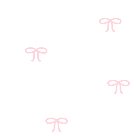 Light Pink Bows on White Background fabric by googoodoll on Spoonflower - custom fabric