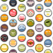 Soda Nation - 62 Bottlecaps of the U.S. National Parks || bottlecap bottle cap national park America United States nps polka dots typography cola travel summer food drink vacation