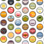 Soda Nation - 59 Bottlecaps of the U.S. National Parks || bottlecap bottle cap national park America United States nps polka dots typography cola travel summer food drink vacation