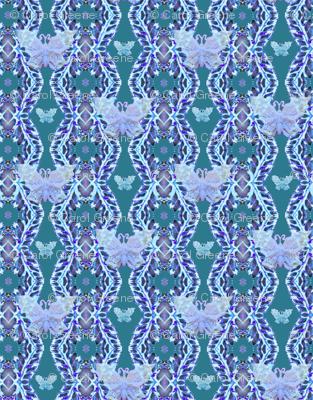 butterflypatterngreen