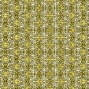 Silk Worms Gold White