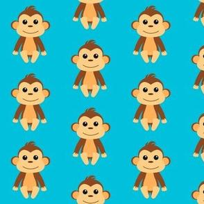 Cheeky Monkey Blue